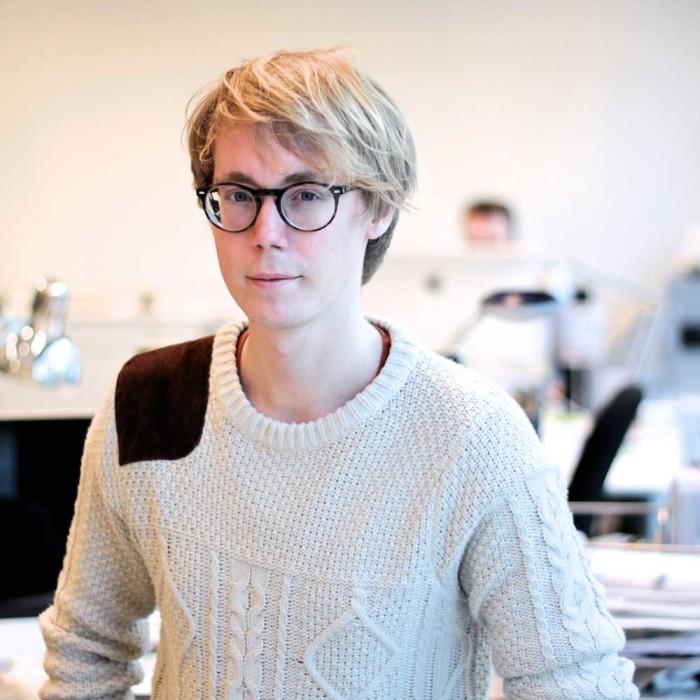 Projektledaren Albin Wärnelöv om arbetsflödet.