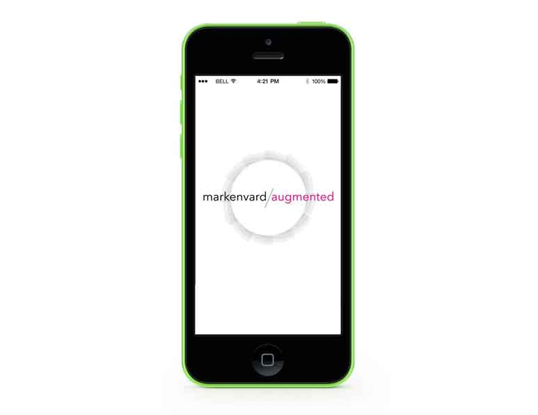 Markenvards augmented reality iPhone app